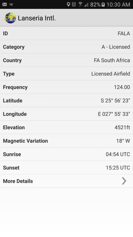 Airfield Details 1