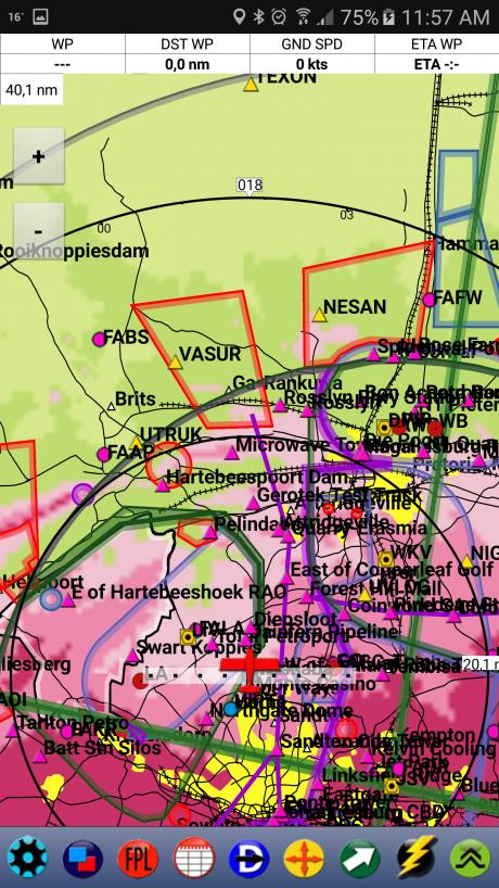 Map view Terrain 3