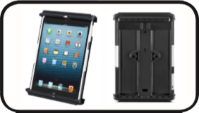 RAM TAB-TITE™ Universal Clamping Cradle for the iPad mini WITH CASE, SKIN OR SLEEVE