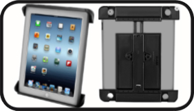 RAM Tab-Tite™ Universal Clamping Cradle for the Apple iPad 4