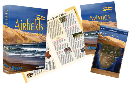 Airfields Directory for Southern Africa - Book